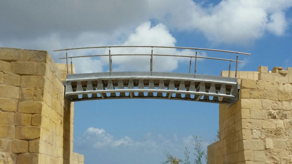 Steel works at Cittadella Gozo