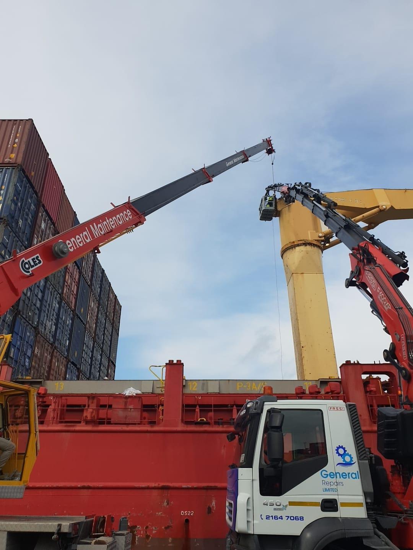 Ship Crane Repairs